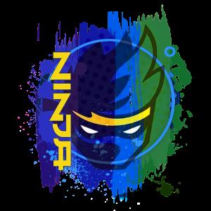 Gaming Ninja Colors Splash