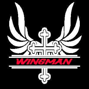 Wingman Kreuz mit Flügel