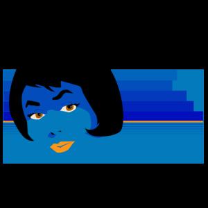 Blau siebzig