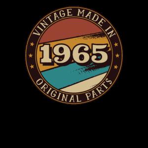 1965 Geburtstag Vintage Geschenkidee
