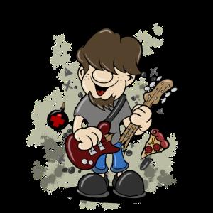 Gitarre Musik HeavyMetal