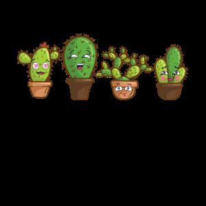 Gruppenkuscheln Kaktus
