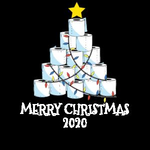 Frohe Weihnachten 2020 - Toilettenpapierbaum