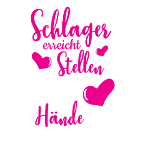 Lustiges witziges Humor Schlager T-Shirt