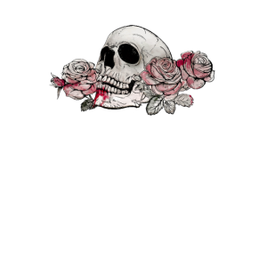 Aesthetic Rose Traurig Liebe Gothic Totenkopf