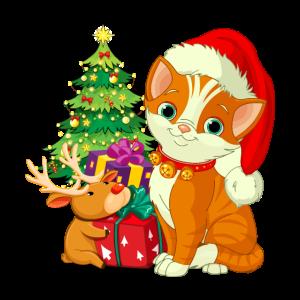 Merry Catmas Xmas Christmas Gift