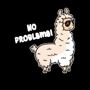 No Problama - Lama Kein Problama Lustiges Alpaka