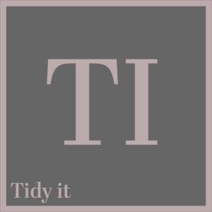 Tidy It