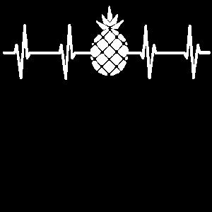 Pineapple EKG Heartbeat