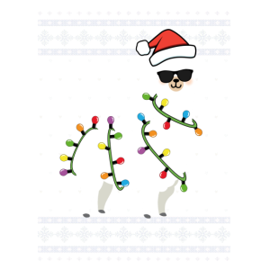 Alpaca Lama Ugly Christmas Funny