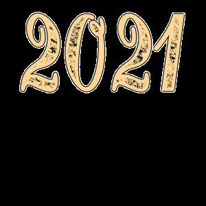 2021 Jahreszahl