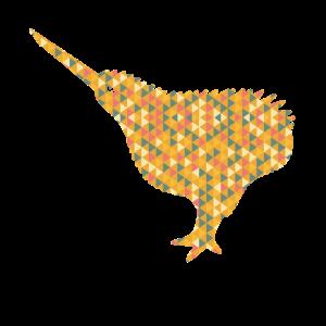 Kiwi Bird Kiwi Bird Geometric Shirts