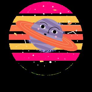 Erstaunter Jupiter im Sonnenuntergang