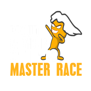 Stolzes Mitglied des PC Master Race Clubs