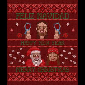 Feliz Navidad Merry Christmas Frohe Weihnachten