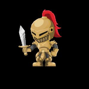 In Game I'm a Warrior Gaming Krieger Design