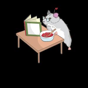 Ironischer Hamster Hobbykoch Niedlich