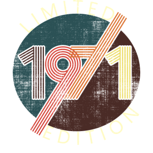 50 Geburtstag Vintage Jahrgang 1971 Retro 2021