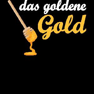 Imker Honig Naturfreund gelb Geschenkidee