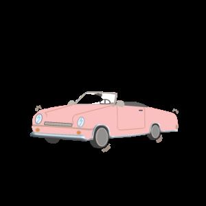 Auto rosa