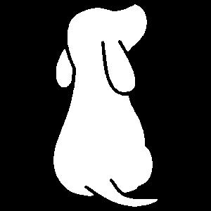 Welpe Hundewelpe Hundebaby Süßer Hund Silhouette