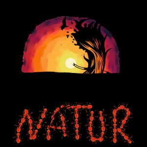 Natur Wildnis Vögel Sonnenuntergang