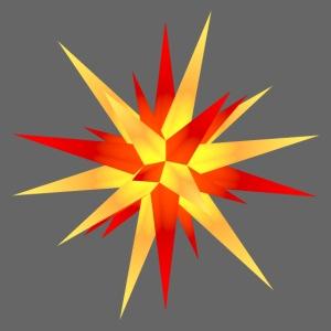 weihnachtsstern gelb-rot 1