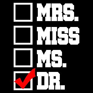 Doktor Checkliste