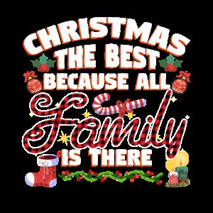 Frohes Weihnachtsfest Mit Der Familie