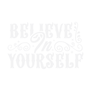 statement shirt believe in yourself, geschenkidee