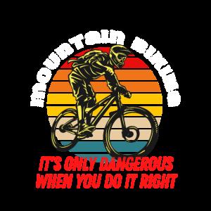 Mountainbike-Shirt-Design für Mountainbiker