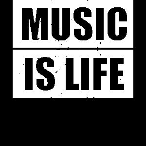 Musikliebhaber Musik ist Leben
