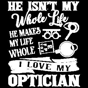 Optiker Ich liebe meinen Optiker