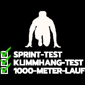 Basis Fitness Test Bundeswehr