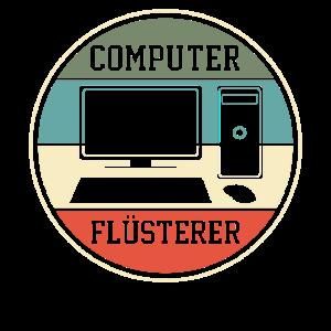 Computer Programmierer Programmierung Retro