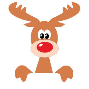 Weihnachts Rentier Reindeer outfit Geschenkidee