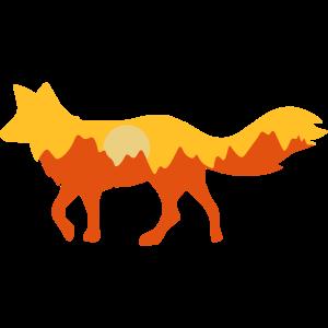 Wildlife / Wüstenfuchs / Fuchs / Berge