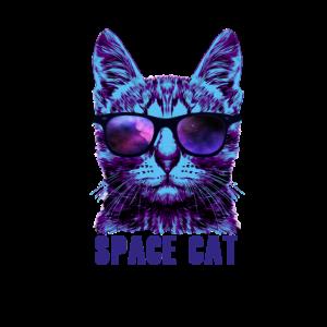 Space Cat - Katze Universum