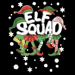 Elf Squad - Family Team - Schnee