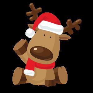 Rentier Rudolph Weihnachten Geschenk
