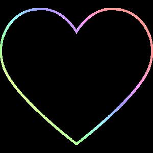 Regenbogen Herz Regenbogenherz