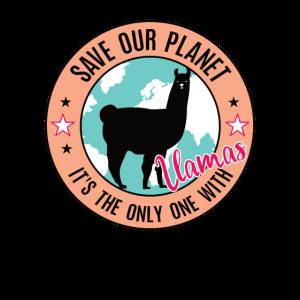Llama Umweltbewusstes Guanako Alpaka Inka Lamas