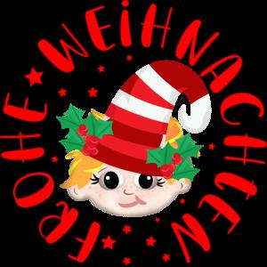 Frohe Weihnachten WEIHNACHTSKOSTÜM KINDER