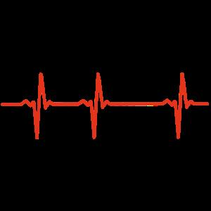 EKG Template Vorlage zum Selbst Gestalten Maske