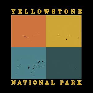 Yellowstone-Nationalpark Elch Bison-Wolfb�r