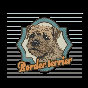 Vintage Border Terrier