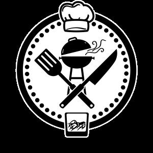 Premium BBQ Master Logo Background