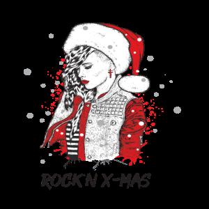 Merry Xmas   Rocker Girl   Heavy Metal Christmas