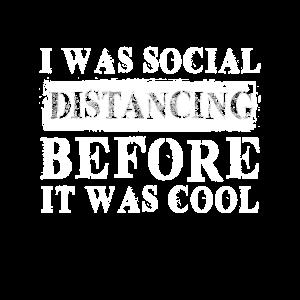Social Distancing Spruch lustig