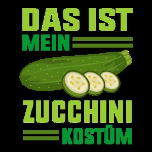 Zucchini Grünpflanzen Geschenkidee